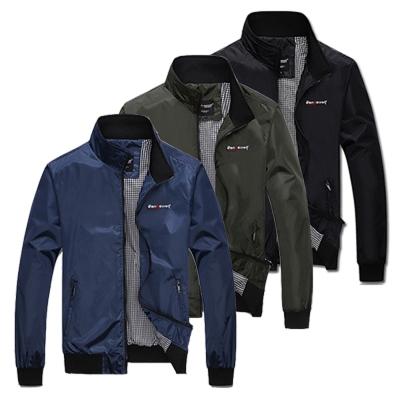 美國熊 合身版型 防風薄款 顯瘦 騎士立領夾克外套