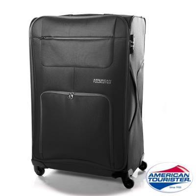 AT美國旅行者 24吋MV+加大容量休旅行李箱(黑)
