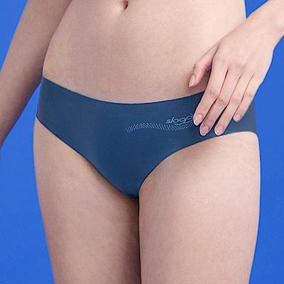 sloggi-ZERO FEEL零感系列平口無痕內褲M-L(靜謐深海藍)
