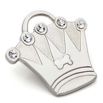 澳洲品牌Hamish McBeth - BlingBling水晶吊牌、銀色皇冠