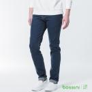 bossini男裝-修身牛仔長褲01靛藍