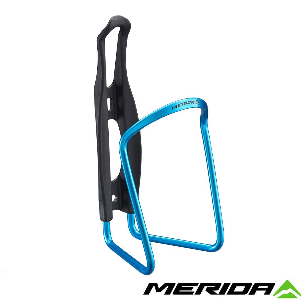 《MERIDA》美利達 2124003319 鋁合金+塑鋼水壺托架 藍 台灣製造
