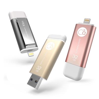 亞果元素【iKlips】 32GB iOS系統專用USB 3.0極速多媒體行動碟