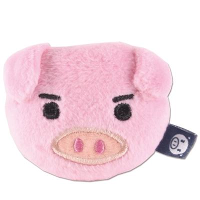 UNIQUE 可愛豬造型磁鐵。粉紅色