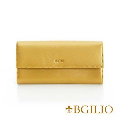 義大利BGilio-NAPPA軟牛皮金屬色系氣質釦