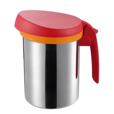 UCHICOOK 健康純淨濾油壺(紅色)