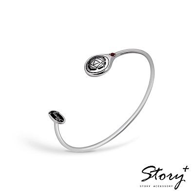 STORY-脈輪系列-海底輪Root Chakra純銀手環