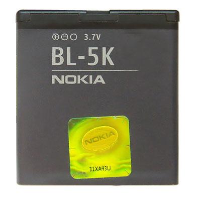NOKIA原廠電池 BL-5K 系列(無吊卡)