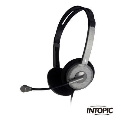 INTOPIC 廣鼎 簡易型耳機麥克風(JAZZ-218)