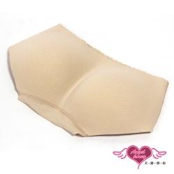 內褲 一片式無痕提臀內褲(膚S~XL)AngelHoney天使霓裳