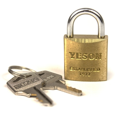 YESON 復古超經典型旅用鑰匙鎖 MG-2507