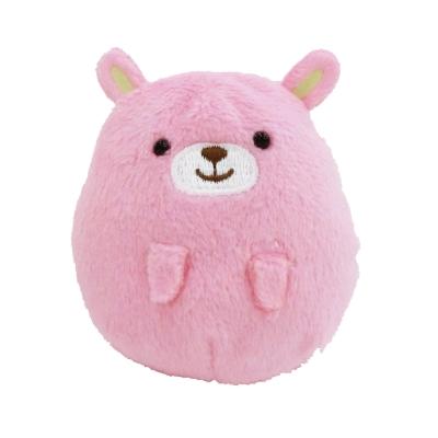 UNIQUE 動物樂園掌心沙包小公仔-粉紅兔