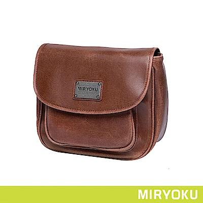 MIRYOKU / 復古馬鞍斜背包(共3色)