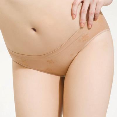 思薇爾-無痕美人系列低腰三角褲M-XL-灰褐膚