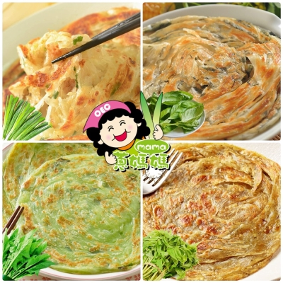 蔥媽媽 自製豬油-手工蔥抓餅(20片/4包)