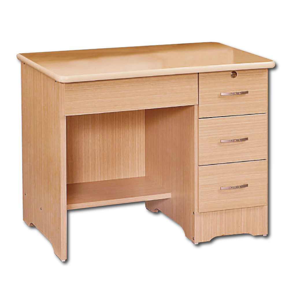AS-Zora楓木3尺書桌 - 91x61x76cm