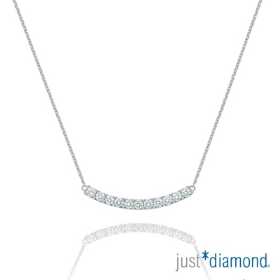Just Diamond Charming系列 18K金 鑽石鑽鍊