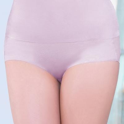 顏Audrey-魔塑美體 三角修飾褲(粉芋色)