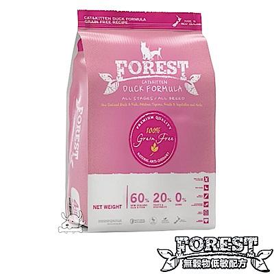 FOREST 森鮮 無穀物低敏天然全貓糧-鴨肉配方 15磅 X 1包
