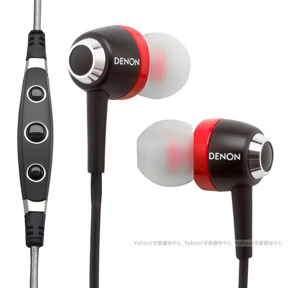 DENON 耳機 AH-C100 iPod/iPhone/iPad耳機