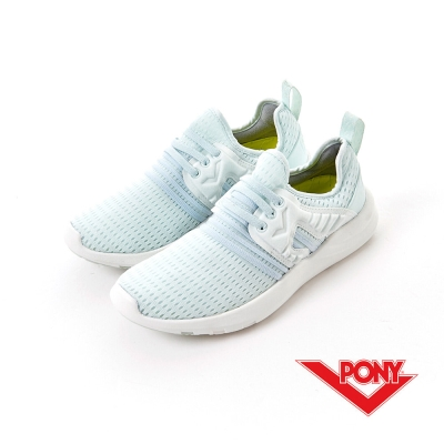 【PONY】SPLASH X 系列-休閒鞋-冰藍色-女性