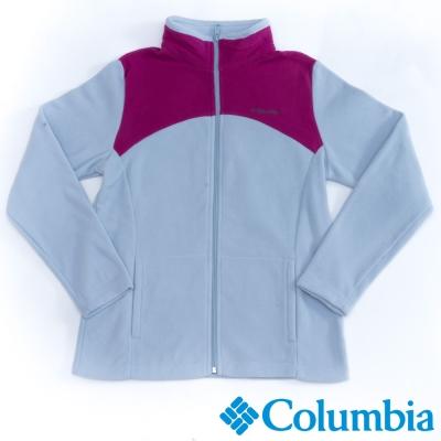 Columbia哥倫比亞  女款-保暖刷毛夾克-藍灰色 UAR04950GL