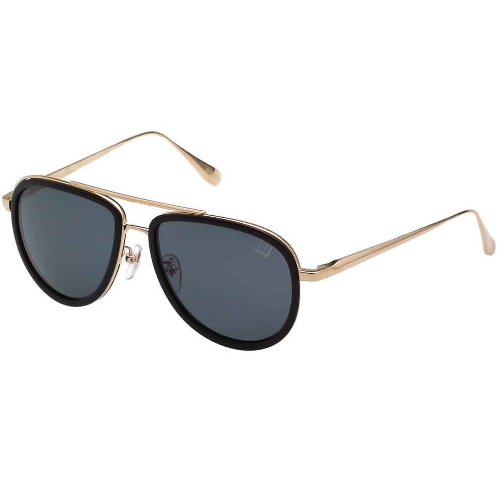 Dunhill 偏光太陽眼鏡 (黑配金)SDH044
