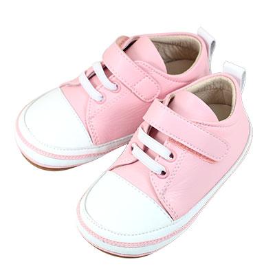 Swan天鵝童鞋-雙色拼接休閒學步鞋1548-粉