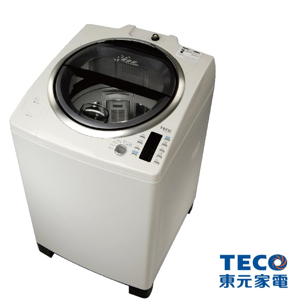 下殺TECO東元14公斤超音波不鏽鋼單槽洗衣機W1480UN