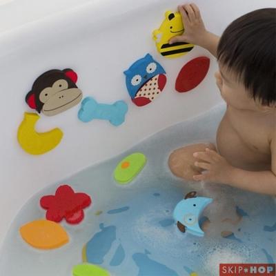 Skip Hop 海綿拼貼洗澡玩具組