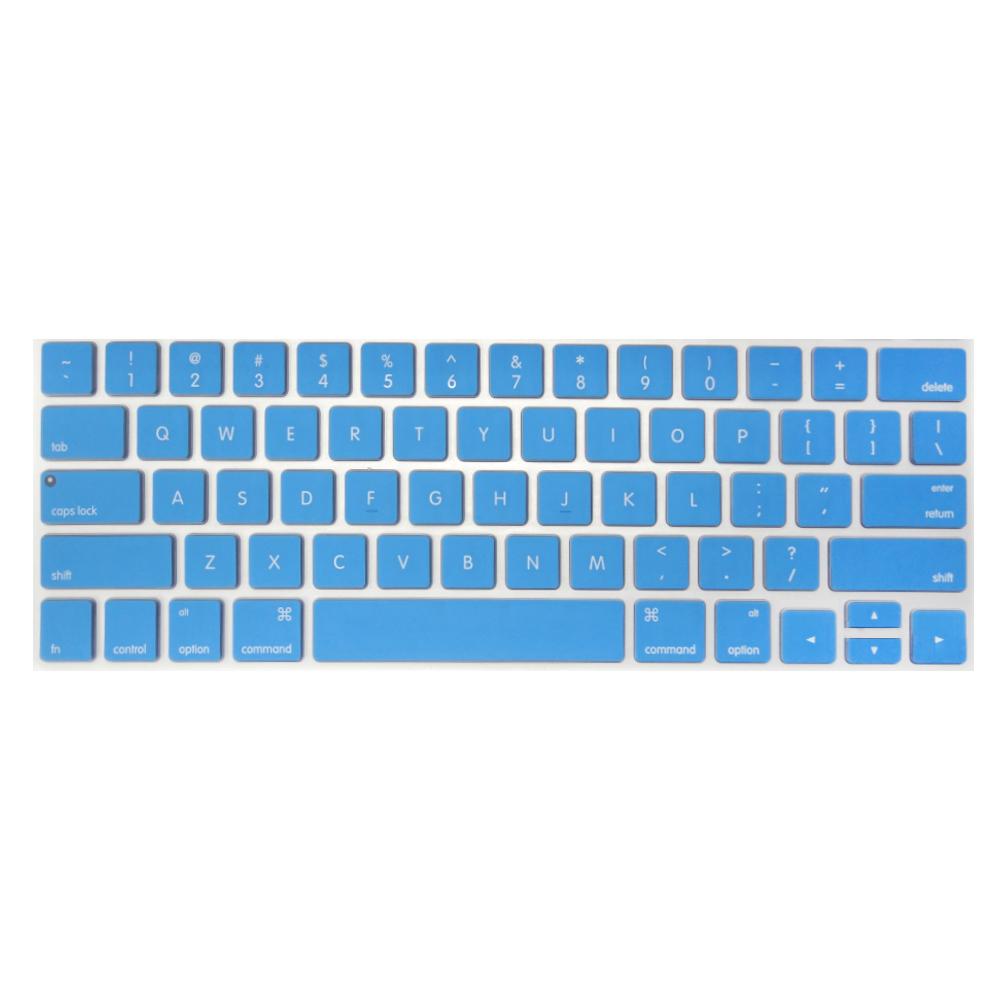 【SHOWHAN】MacBook Pro Touch Bar 13吋英文鍵盤膜 深藍