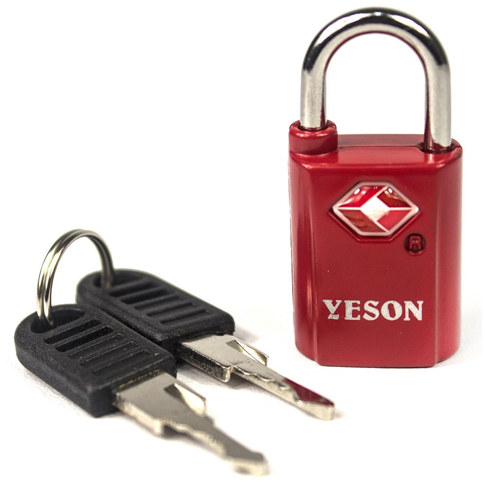 YESON - 歐美海關專用TSA旅用鑰匙鎖-二色可選 MG-2513