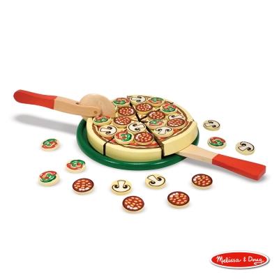 美國瑪莉莎 Melissa & Doug 玩食趣 - Pizza 比薩派對