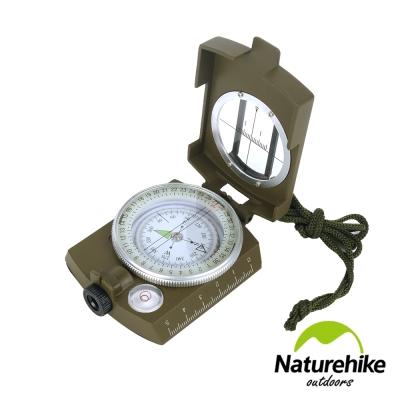 Naturehike 軍用防水夜光指南針 指北針 地質羅盤儀 轉