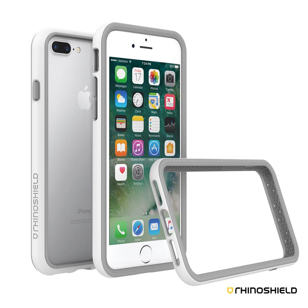 犀牛盾 iPhone 8 Plus / 7 Plus (5.5吋)CrashGuard防摔邊框殼