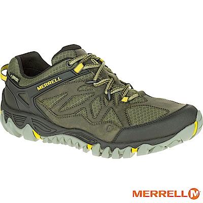 MERRELL ALLOUTBLAZE GTX 登山男鞋-綠(32797)