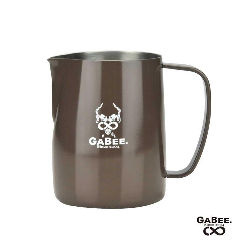 GABEE. 1407B不鏽鋼拉花杯 300CC-三色(HC7104)