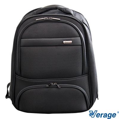 Verage 16.5吋 專業多功能電腦商務後背包 (黑)