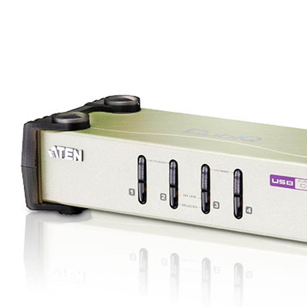 ATEN 4埠USB+PS/2多電腦切換器CS84U