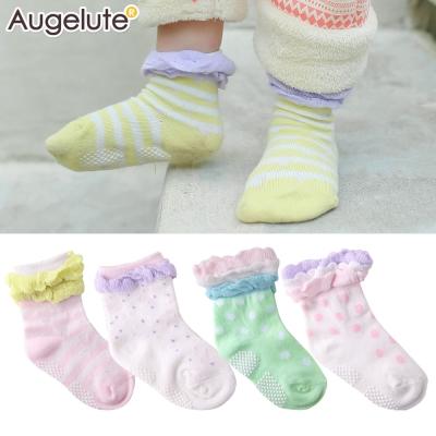 baby童衣 棉質造型花邊防滑襪 不挑款 30894