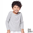 zuzai 自在發熱衣  童無重力暖搭長袖衣-灰色