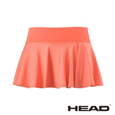 HEAD 吸濕排汗 女 休閒 運動褲裙-珊瑚紅 814397