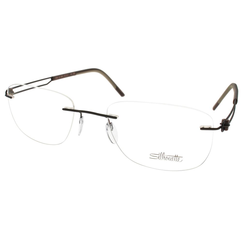 Silhouette詩樂眼鏡 極輕舒適/棕#ST5358 C6058