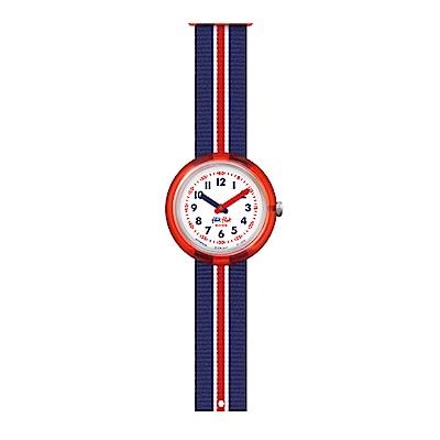 FlikFlak 兒童錶 RED BAND 航海小水手手錶