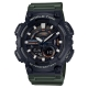 CASIO 悍將世界城市玩家雙顯運動錶(AEQ-110W-3A)墨綠X黑/46.6mm product thumbnail 1