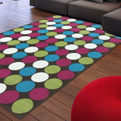 Ambience-比利時Shiraz 現代地毯--彩聚(160x230cm).