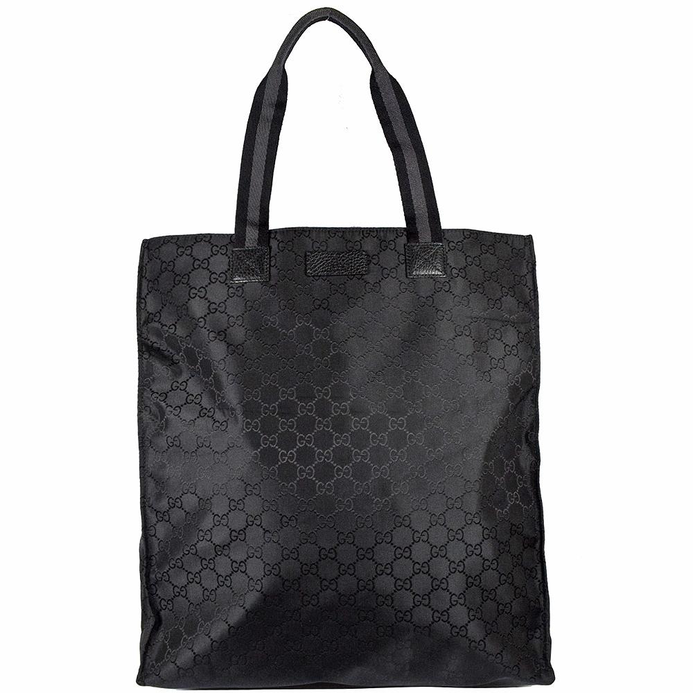 GUCCI GG LOGO提花直式購物包(黑) @ Y!購物