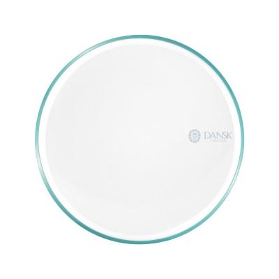 [Outlet] DANSK 陶瓷材質餐盤21cm-(藍綠色)