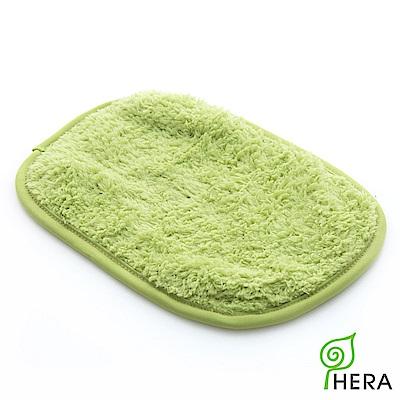 HERA 3M專利瞬吸快乾抗菌超柔纖-多用途小手帕-香草綠