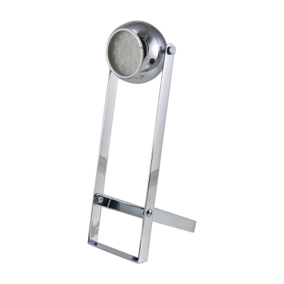 SPARTA 輕巧好攜帶 充電式 金屬材質 LED手電筒/桌燈